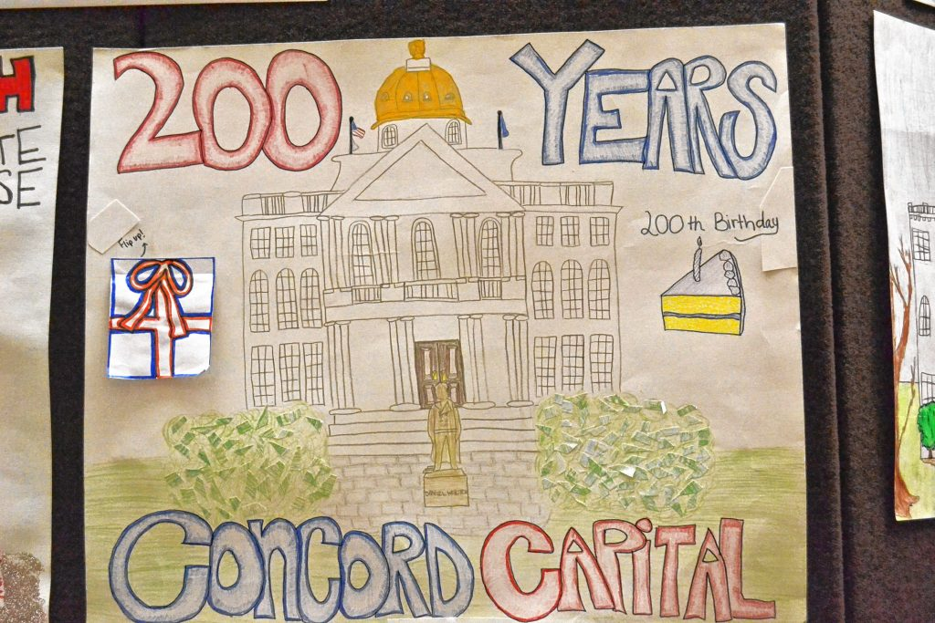 200 Years of the Concord Capital, Gracie Bolduc, Weare Middle School, 1st Place Middle School. TIM GOODWIN / Insider staff