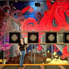 Have you seen the gigantic new octopus mural at Area 23?