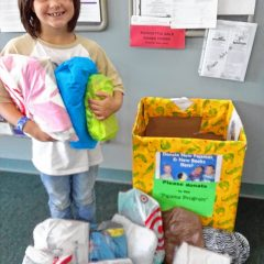 Bow Garden Club wants PJs, books