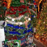 Another year, another wacky assortment of displays at the Feztival of the Trees