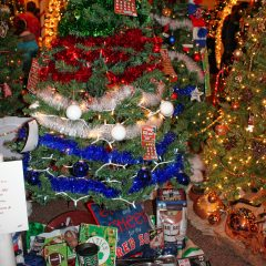 Another year, another wacky assortment of displays at theFeztival of the Trees