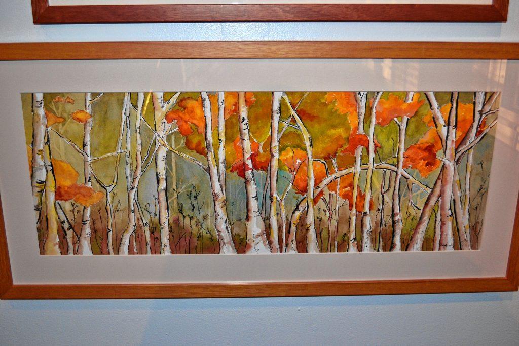 Autumn Birches, Mary Ruedig. TIM GOODWIN / Insider staff
