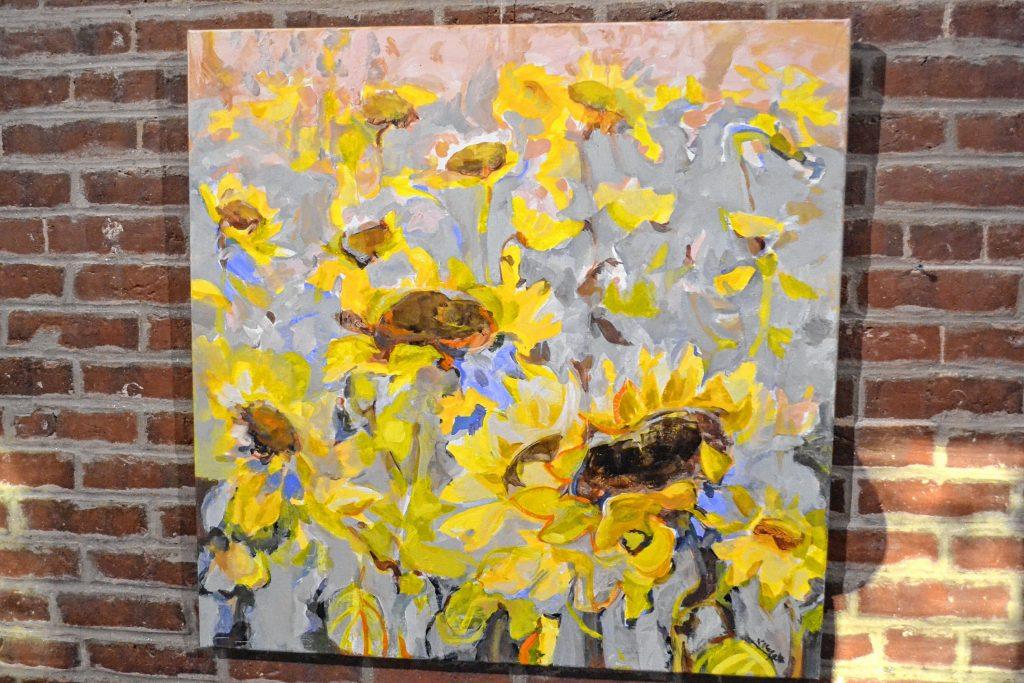 Sunflowers, Dustan Knight. TIM GOODWIN / Insider staff