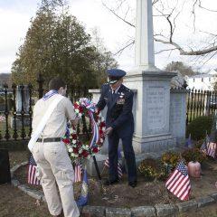 Wreath-laying ceremony to celebrate Franklin Pierce's birthday