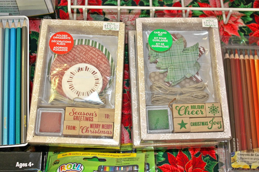 You can use these kits at Art Plus to make your own ornaments and garlands. JON BODELL / Insider staff