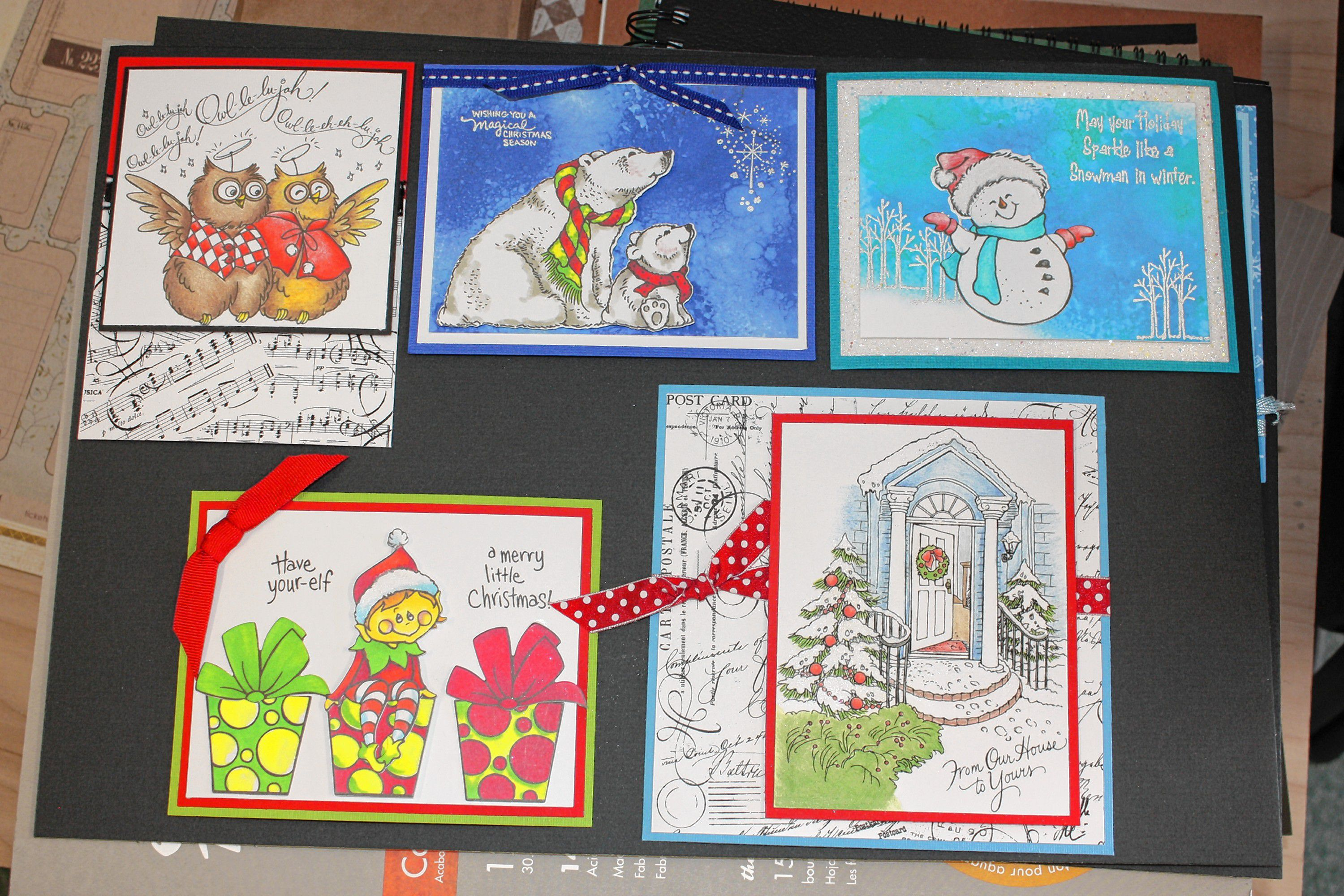 There are dozens of options for holiday-themed stamps at Art Plus ...