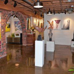 The Arts:Artist demo at McGowan Fine Art Saturday
