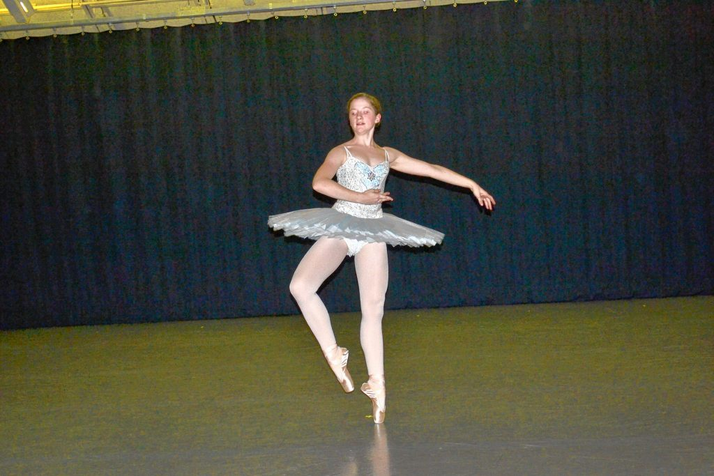 Concord native Zoe Dienes will play the role of Snow Queen in St. Paul's School Ballet Company's free performances of The Nutcracker Act II this weekend. TIM GOODWIN / Insider staff