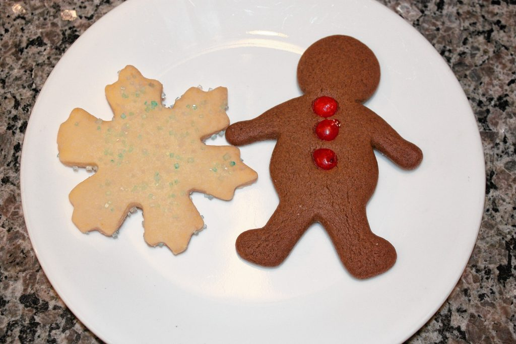 At The Crust & Crumb Baking Co., you can get Christmas staples such as gingerbread men and snowflake-shaped butter cookies. JON BODELL / Insider staff