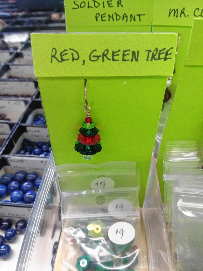 If your Yankee swap group is a crafty one, this Christmas earrings kit from Bead It is perfect. TIM GOODWIN / Insider staff