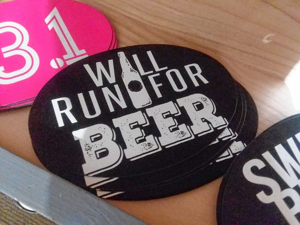 If beer was the end result, we might be inclined to go for a run too. TIM GOODWIN / Insider staff