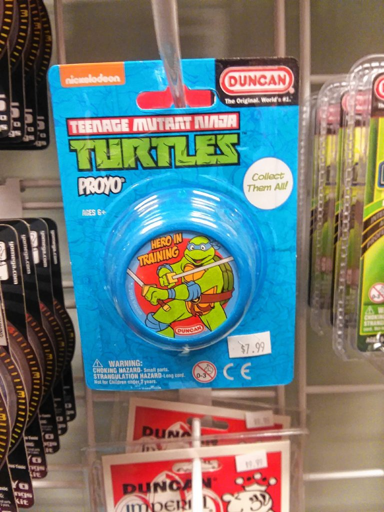 The Teenage Mutant Ninja Turtles are huge right now, which is why this yo-yo for YoYo Heaven would be a great thing to bring. TIM GOODWIN / Insider staff