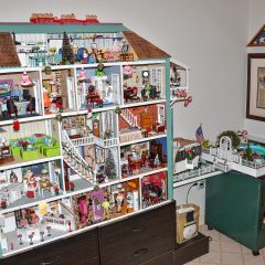 This is not your child's kind of dollhouse