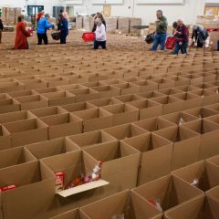 No slowing down the Holiday Food Basket Project