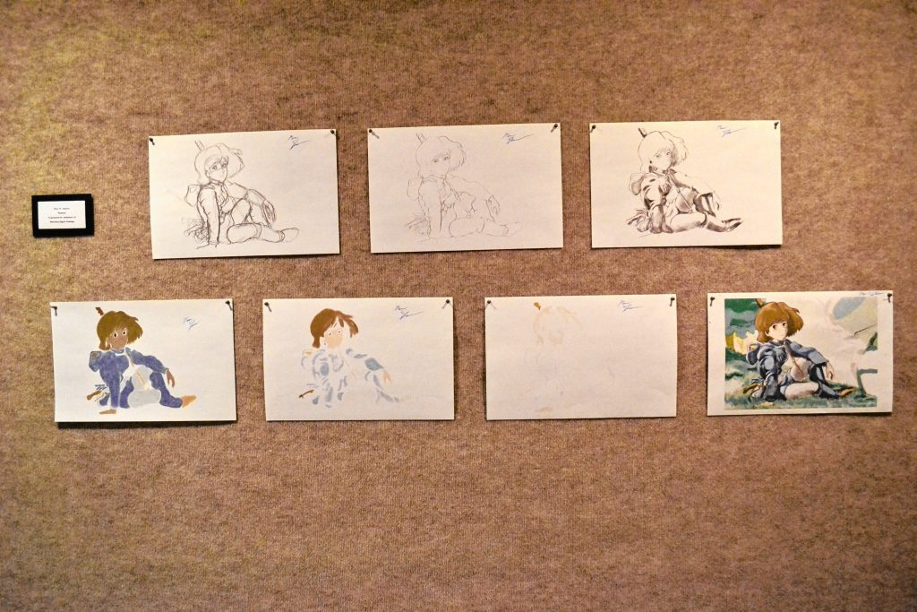 Nausicaa animation progressions, Marc Johnson. TIM GOODWIN / Insider staff