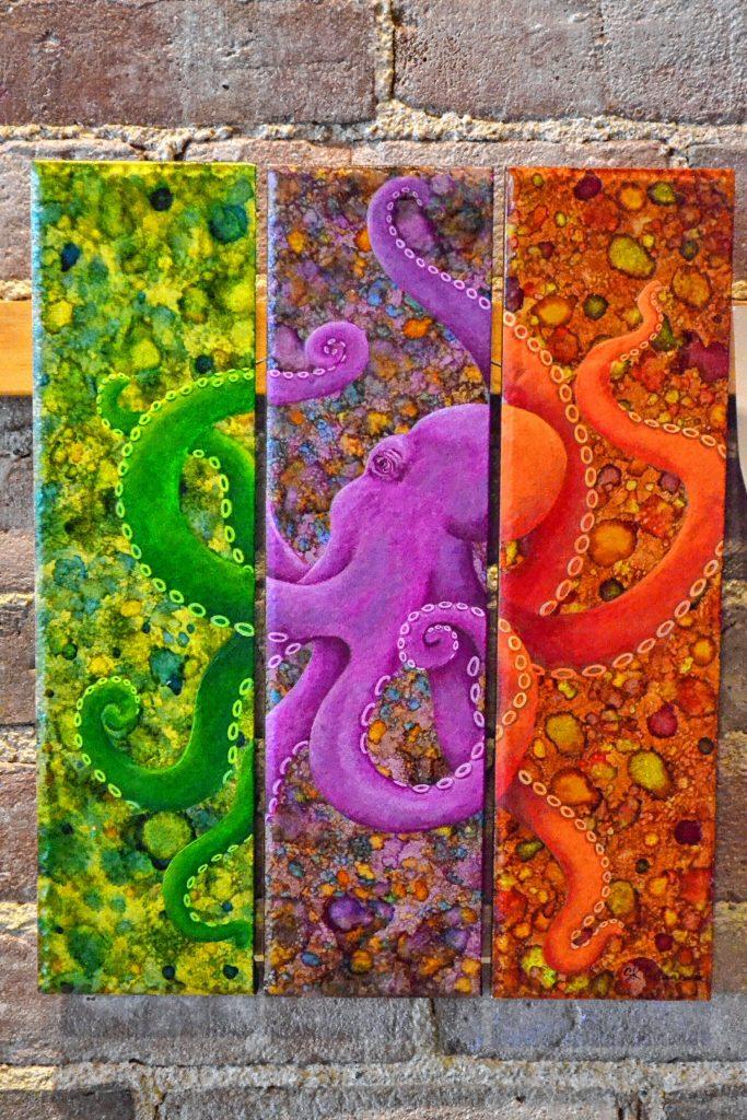 The Moody Octopus, Sharon Zimmermann. TIM GOODWIN / Insider staff