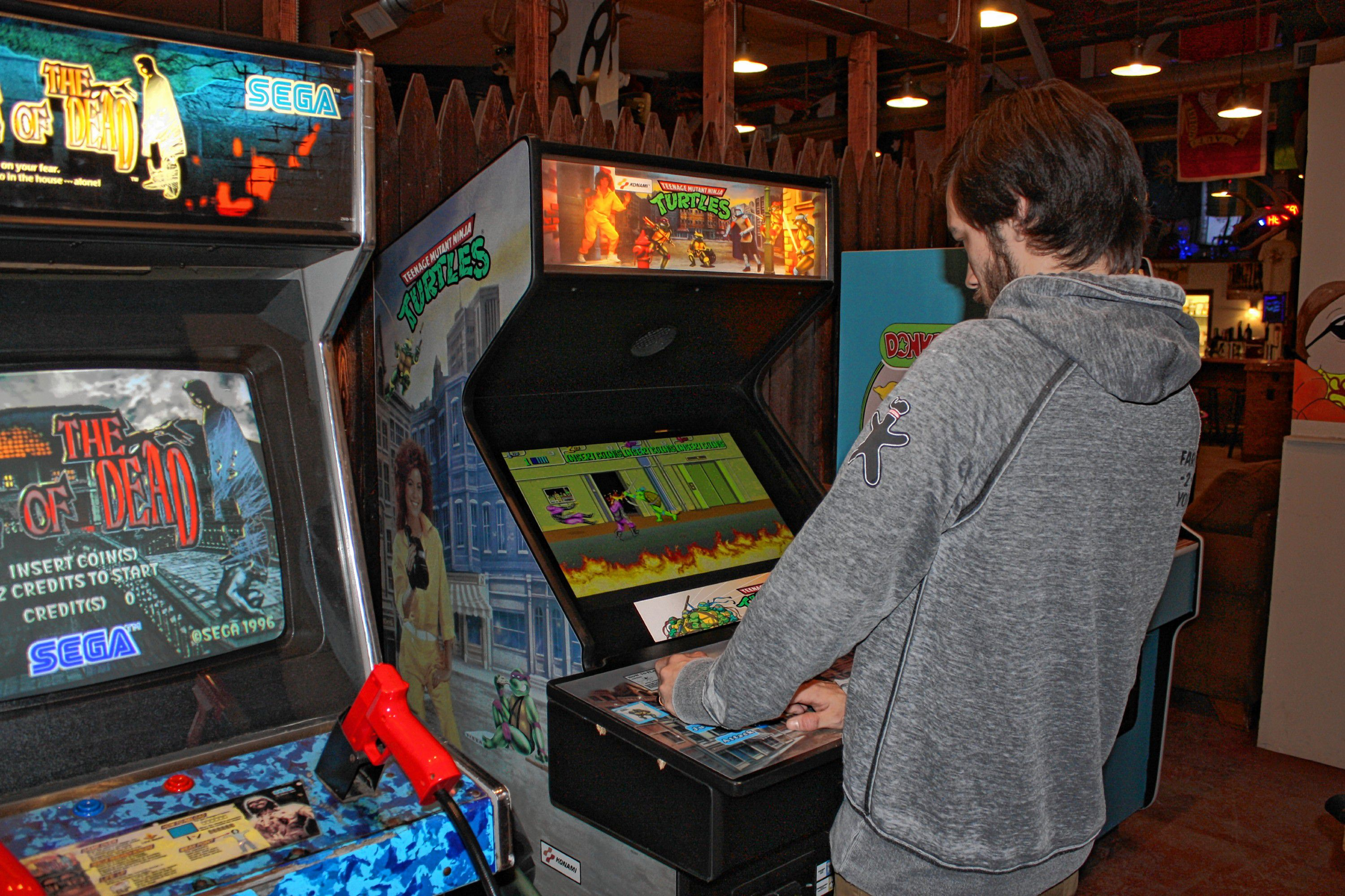 Go Try It Play Some Retro Arcade Games At Area 23 The Concord Insider