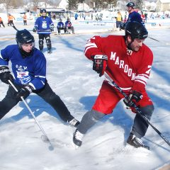 White Park is the place for Black Ice hockey