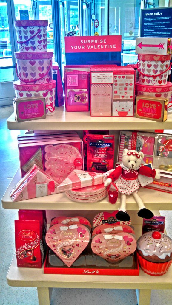 You can even get sweets for your Valentine at Marshall's on Storrs Street. Apart from this Valentine's Day-specific display of candy and related items, you can also get all kinds of fancy and all-natural candies by the checkout registers or over in the kitchen section. JON BODELL / Insider staff