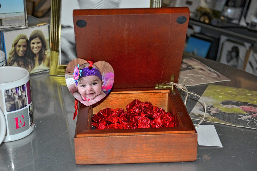 Concord Camera Store has personalized photo boxes and ornaments for your sweetheart. TIM GOODWIN / Insider staff