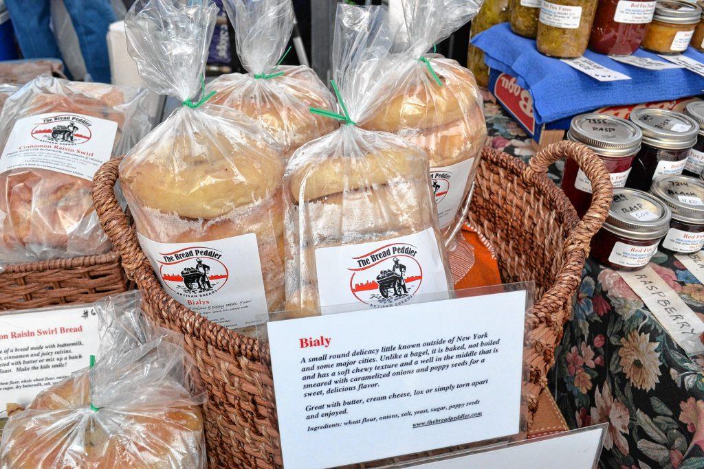 Bialiys from The Bread Peddler. TIM GOODWIN / Insider staff
