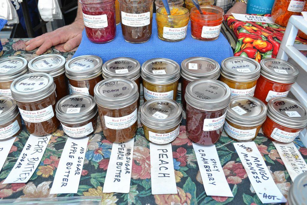 Jams from Red Fox Farm. TIM GOODWIN / Insider staff