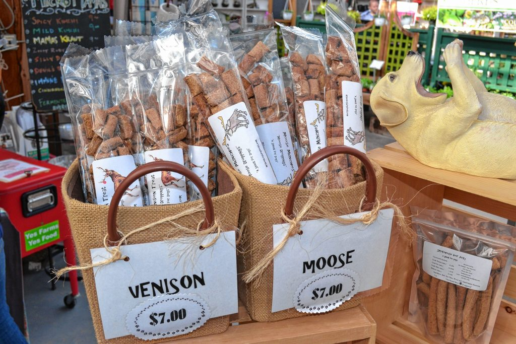 Dog treats from Mrs. Beasley's. TIM GOODWIN / Insider staff