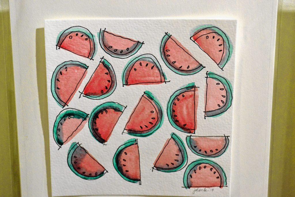 Watermelons, Jenny Duck. TIM GOODWIN / Insider staff