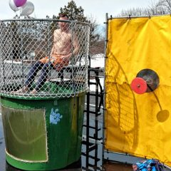 Get dunked in frigid water for Womenade