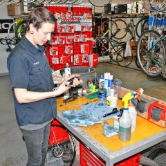 Get your bike all tuned up and ready to go for spring at Goodale's Bike Shop