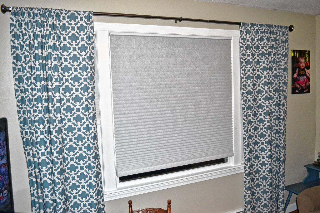 Adding a new color is a cost effective way to enhance a room in your house – then you can buy new curtains and blinds for a fresh new look. TIM GOODWIN / Insider staff