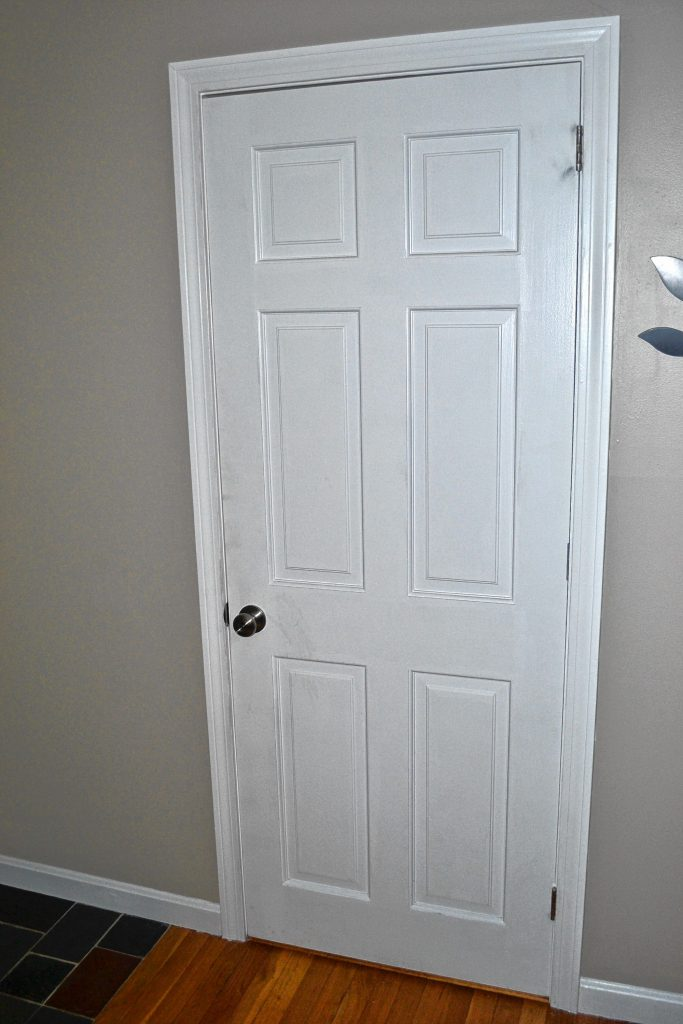 If those interior doors look tired, either paint them or peck away at replacing a few at a time. TIM GOODWIN / Insider staff