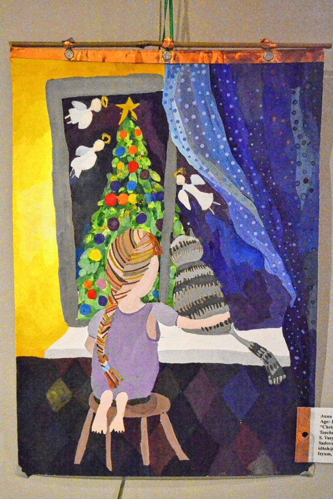 Christmas Angel, Anna Jakovenko, The Peace in the World, Concord Library. TIM GOODWIN / Insider staff