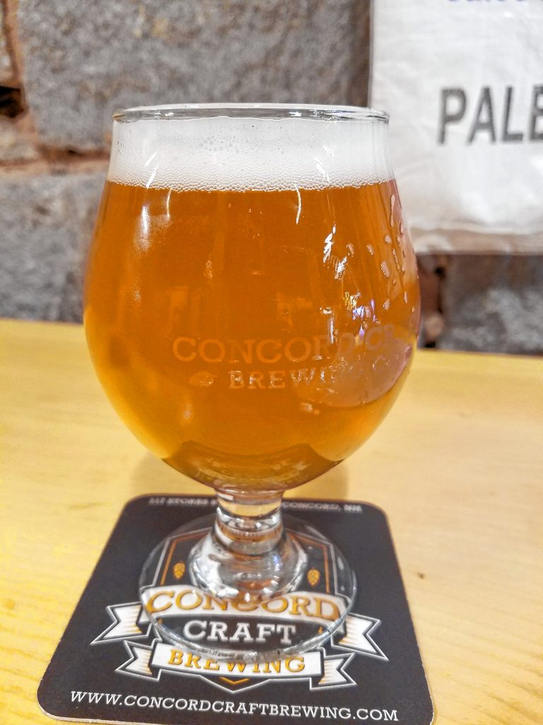Try a glass of Hoppy Kolsch - Idaho 7 at Concord Craft Brewing Co. while supplies last. This beer was just made in a limited batch, so it's only available in 12-ounce pours -- no pints or growler fills. JON BODELL / Insider staff