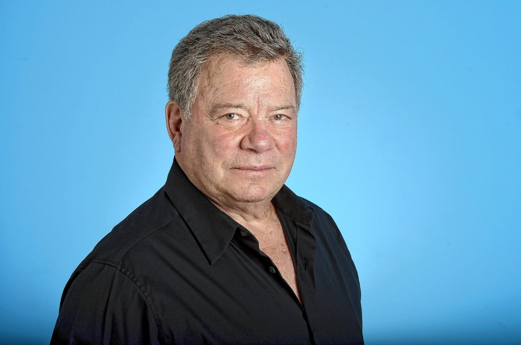 "In this May 22, 2017 photo, William Shatner poses for a portrait on Monday, May 22, 2017 in Los Angeles. As ""Star Trek II: The Wrath of Khan"" marks its 35th anniversary with a return to theaters for special screenings next week, star Shatner is celebrating more than his long history as Captain Kirk. At 86, the stalwart entertainer is busier than ever. (Photo by Jordan Strauss/Invision/AP) Jordan Strauss"