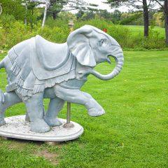 Mill Brook sculpture garden reopens