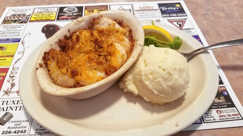 Makris Lobster & Steak House won the Cappies award for Best Seafood, so we went by and ordered  the Baked Seafood Platter, complete with shrimp, scallop, haddock and swordfish. JON BODELL / Insider staff