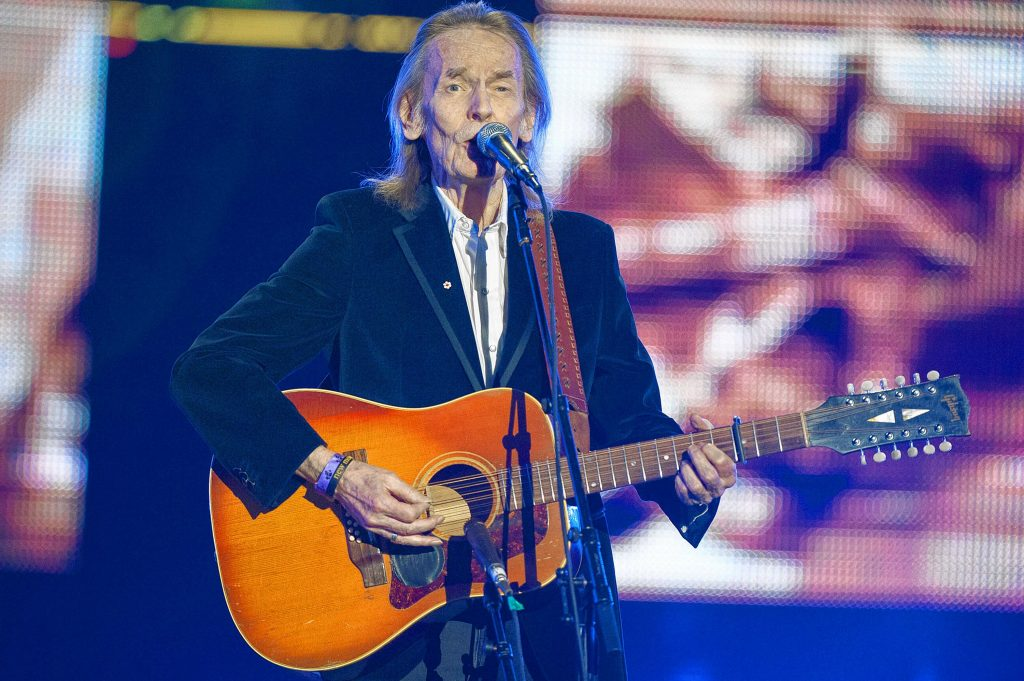 Singer Gordon Lightfoot performs during the CFL's 100th Grey Cup Championship Halftime Show at the Rogers Centre on Sunday, Nov. 25, 2012, in Toronto. (Photo by Arthur Mola/Invision/AP) Arthur Mola