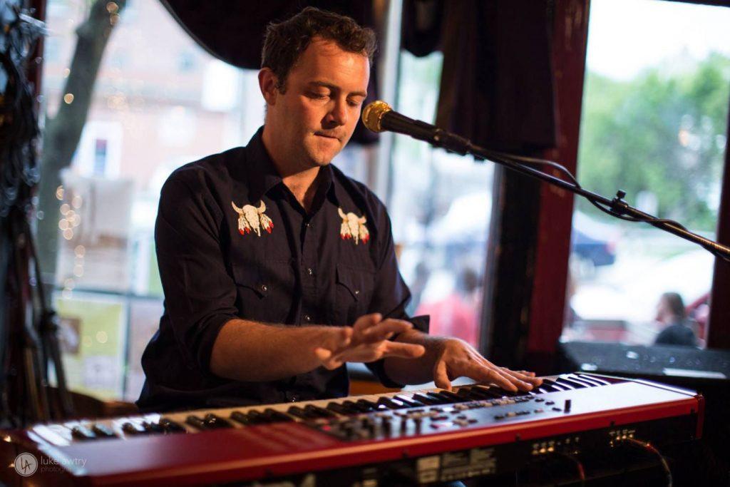 Andrew Grosvenor performs at Radio Bean in Burlington, Vt.