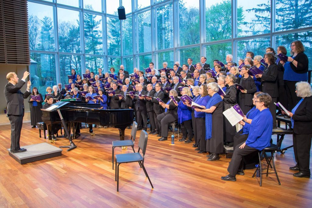 The Concord Chorale will kick off its 50th year celebration with a pair of concerts this weekend, including one at the Capitol Center for the Arts at 3 p.m. on Sunday. Courtesy of the Concord Chorale