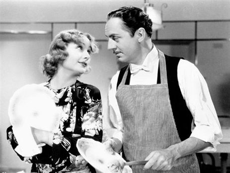 My Man Godfrey will be shown in the Concord Food Co-op parking lot on Friday. Courtesy