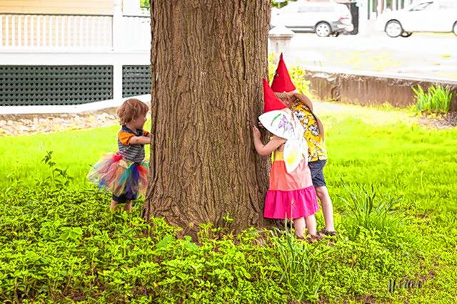 Acting like gnomes and building fairy houses are just some of the things you can do at the 4th Annual Princess, Fairy and Gnome Festival at Kimball Jenkins this Sunday. Courtesy of Kimball Jenkins