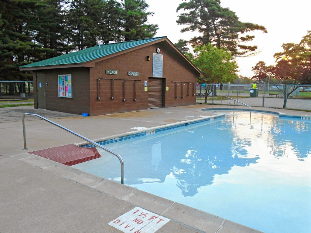 Here's how the old pool at Keach Park looked before it was renovated. Courtesy of Concord General Services