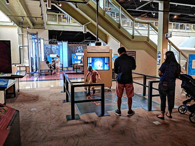 Check out the Math Moves! exhibit at the McAuliffe-Shepard Discovery Center this summer. Courtesy of McAuliffe-Shepard Discovery Center