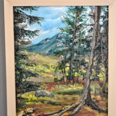 En plein air paintings at Concord Chamber