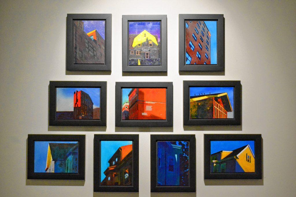 City Scenes, John Bonner, McGowan Fine Art. TIM GOODWIN / Insider staff