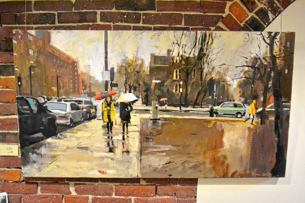Rainy Day Redux, John Bonner, McGowan Fine Art. TIM GOODWIN / Insider staff