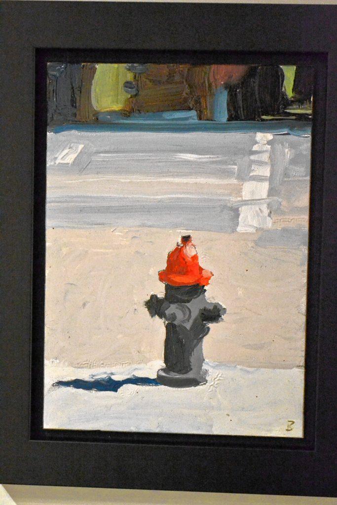 Red Hydrant, John Bonner, McGowan Fine Art. TIM GOODWIN / Insider staff
