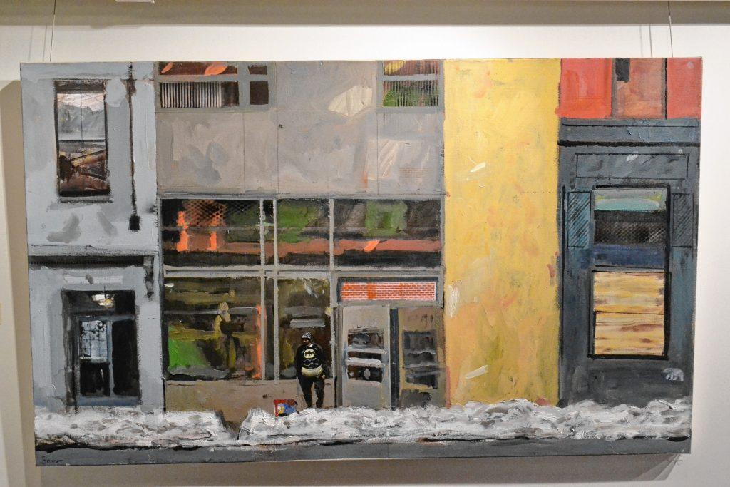 Batman on Haverhill, John Bonner, McGowan Fine Art. TIM GOODWIN / Insider staff