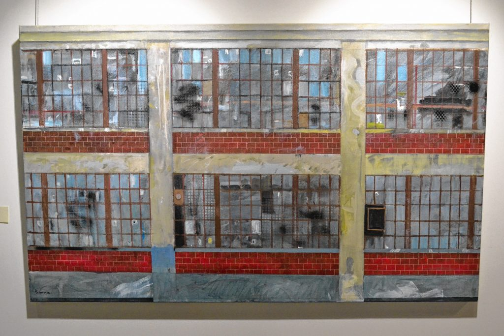 Factory Facade, John Bonner, McGowan Fine Art. TIM GOODWIN / Insider staff